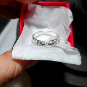 New Pave Accented Ring
